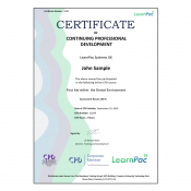 First Aid within the Dental Environment - E-Learning Course - CPDUK Accredited - LearnPac Systems -