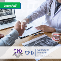 Health and Safety in Dentistry - Enhanced Dental CPD - Online Training Course - CPD Accredited - LearnPac Systems -