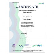 Health and Wellbeing at Work - Enhanced Dental CPD Course - The Mandatory Training Group UK -