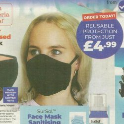 Reusable copper face mask advert banned over 'destroying germs' claim -