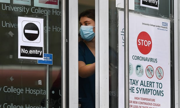 UK Covid-19 daily death toll rises to 492 – highest since May -