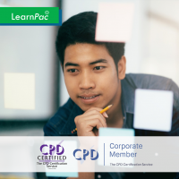 Personal Development Plan - Online Training Course - CPD Accredited - LearnPac Systems -