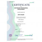 Safety Signage - eLearning Course - CPD Certified - LearnPac Systems UK