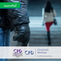 Active Shooter Awareness - Online Training Course - CPD Accredited - LearnPac Systems -