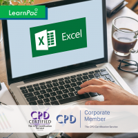 MS Excel - Data Analysis with - Online Training Course - CPD Accredited - LearnPac Systems -