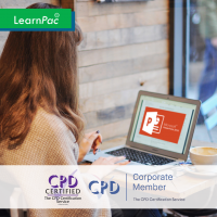 Mastering MS Powerpoint 2016 - Online Training Course - CPD Accredited - LearnPac Systems -