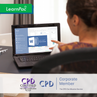 Mastering MS Powerpoint 2016 - Online Training Courses - The Mandatory Training Group UK -