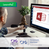 Mastering Microsoft Access 2013 - Online Training Course - CPD Certified - LearnPac Systems UK -