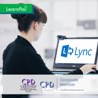 Microsoft Lync Essentials - Online Training Course - CPD Accredited - LearnPac Systems -