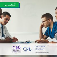 Staff Induction Training - Online Training Course - CPD Accredited - LearnPac Systems -
