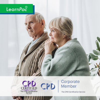 Dementia Care Training - Online Training Course - CPD Accredited - LearnPac Systems -