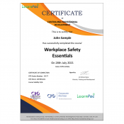 Workplace Safety Essentials - Online Training Course - CPD Certified - LearnPac Systems UK -