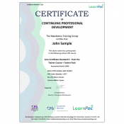 Care Certificate Standard 9 - Train the Trainer Course + Trainer Pack - CPD Accredited - Learnpac Systems UK -