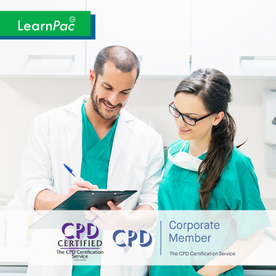 Care Certificate Standard 6 - e-Trainer Pack - CPDUK Accredited - LearnPac Systems UK -