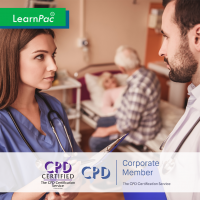 Care Certificate Standard 7 - e-Trainer Pack - CPDUK Accredited - LearnPac Systems UK -