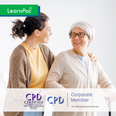 Care Certificate Standard 10 - e-Trainer Pack - CPDUK Accredited - LearnPac Systems UK -
