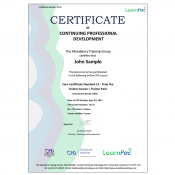 Care Certificate Standard 15 - Train the Trainer Course + Trainer Pack - CPD Accredited - Learnpac Systems UK -