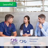 Care Certificate Standard 2 - Train the Trainer Course + Trainer Pack - CPDUK Accredited - Learnpac Systems UK -