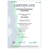 Care Certificate Standard 14 - Train the Trainer Course + Trainer Pack - CPD Accredited - Learnpac Systems UK -