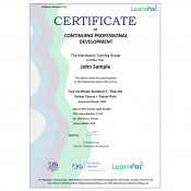 Care Certificate Standard 4 - Train the Trainer Course + Trainer Pack - CPD Accredited - Learnpac Systems UK -