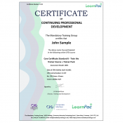 Care Certificate Standard 6 - Train the Trainer Course + Trainer Pack - CPD Accredited - Learnpac Systems UK -