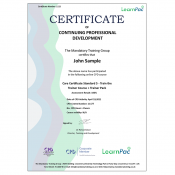 Care Certificate Standard 5 - Train the Trainer Course + Trainer Pack - CPD Accredited - Learnpac Systems UK -