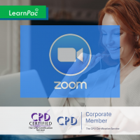 Leading Engaging Zoom Meetings - Online Training Course - CPD Accredited - LearnPac Systems -