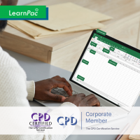 Mastering Microsoft Excel 2013 - Basics - Online Training Course - LearnPac System UK -