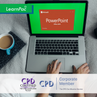 Mastering Microsoft PowerPoint 2019 - Basics - Online Training Course - CPD Accredited - LearnPac Systems -