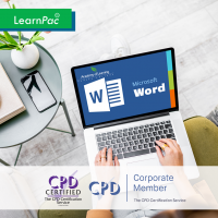 Mastering Microsoft Word 2019 - Basics - Online Training Course - CPD Certified - LearnPac Systems UK -