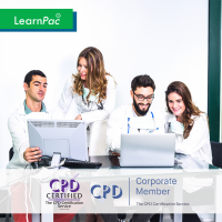 Care Certificate Standard 3 - e-Trainer Pack - CPDUK Accredited - LearnPac Systems UK -
