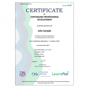 Care Certificate Standard 4 - E-Learning - Course - CDPUK Accredited - LearnPac Systems UK -