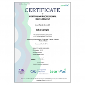 Handling Information - Train the Trainer Course + Trainer Pack - E-Learning Course - CDPUK Accredited - LearnPac Systems -