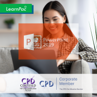 What's New in PowerPoint 2019 - Online Training Course - CPD Accredited - LearnPac Systems -