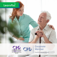 Falls Assessment and Management in Care Homes - Level 2 - Online Training Course - CPD Accredited - LearnPac Systems UK -